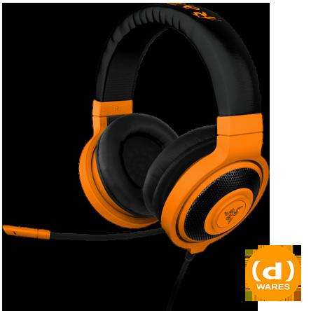 Razer Kraken Pro Neon Orange Gaming Headphones