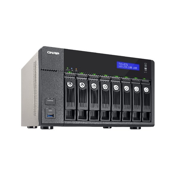 Buy the QNAP 8-Bay NAS