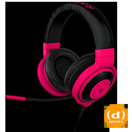 Razer Kraken Pro Neon Red Gaming Headphones