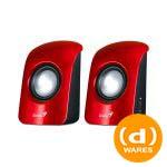 GENIUS SPU115 2.0 USB RED SPEAKER