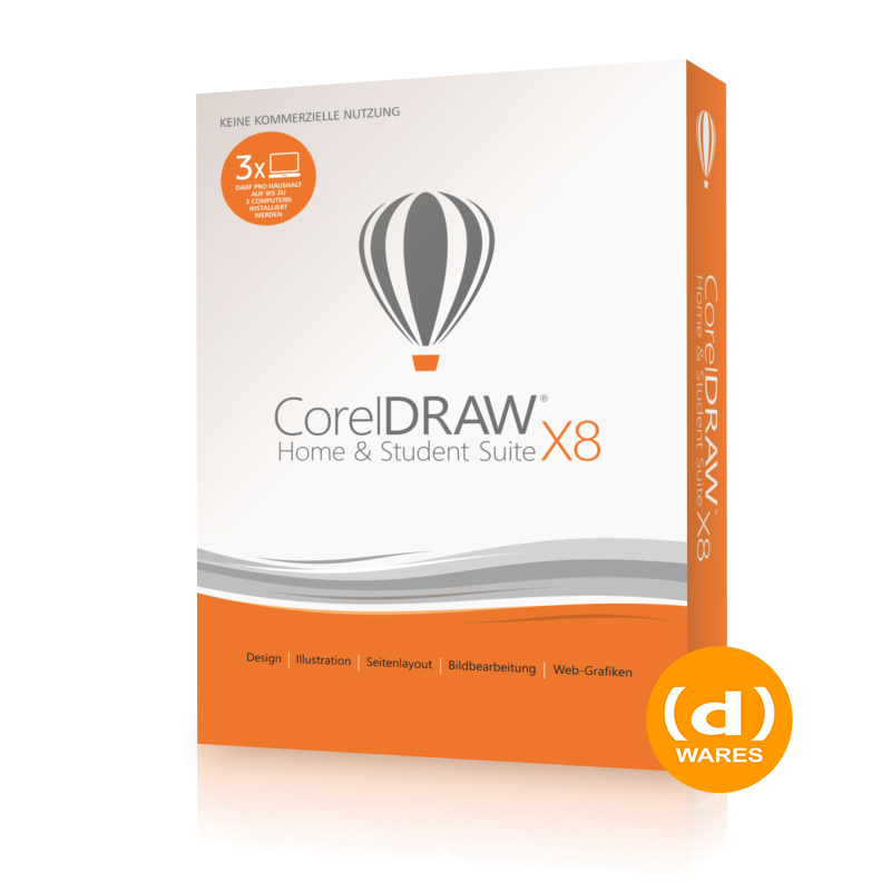CorelDraw Home & Student Suite X8 Mini-B
