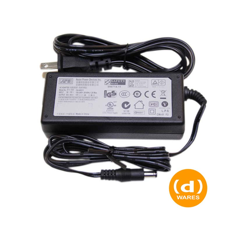 LaCie Power Supply DA-48Q12 APD 12v/4A