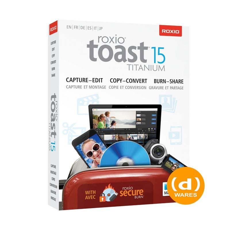 Roxio Toast Titanium 15 ML Mini Box