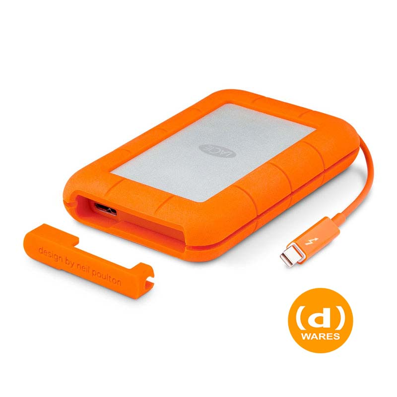 Rugged 2TB Thunderbolt & USB 3.0